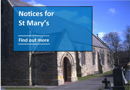 Notices for St Mary's